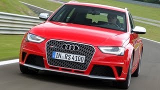 Audi RS4 Avant video review - www.autocar.co.uk