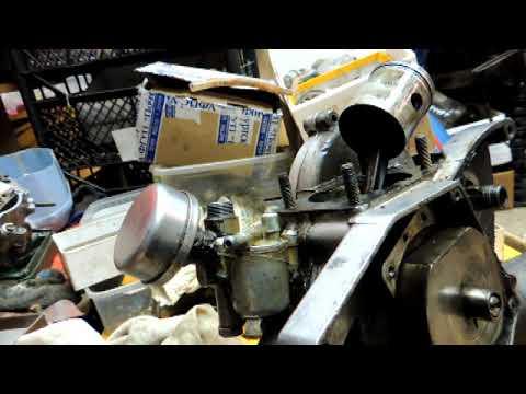 мотор д8 разбор Рига 13