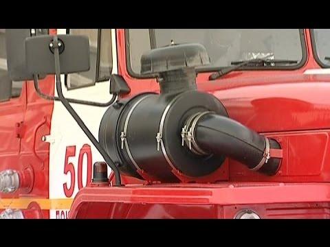 Водитель пожарной машины Павел Жданов