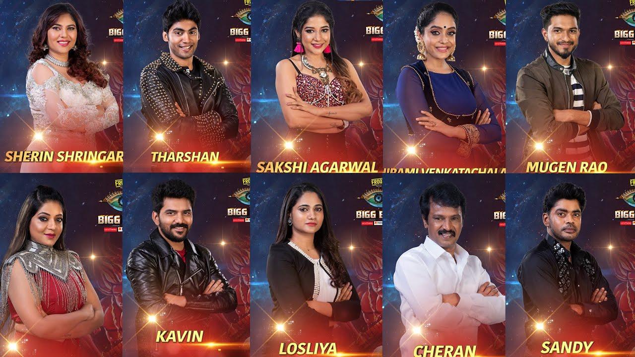 Actual 15 Final Contestants of Bigg Boss Season 3 | Bigg Boss 3 Tamil  Review Episode 1 TalksOfCinema