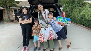 Шопинг с Детьми из Магазина Target - Игрушка Для Арка - Эгине - Семейный Влог - Heghineh
