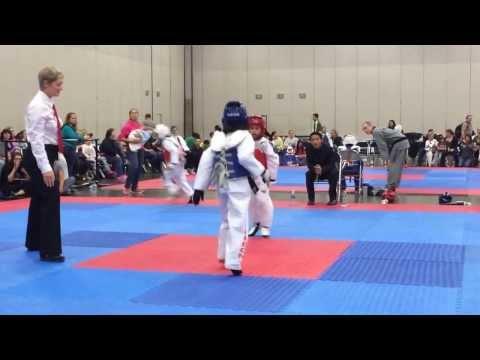 2013 NW Martial Arts Festival - Taekwondo National Champion Shaun Jones