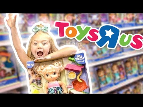 5 YEAR OLD TOYS R US HUGE SHOPPING HAUL!!!