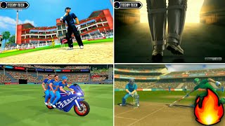 Top-5 Amazing Cricket Games Video Gameplay Trailer | Must Watch 👌That