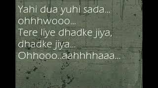 Call - Dhadke Jiya With Lyrics by Xain
