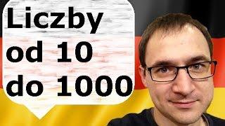 Liczby od 10 100 1000 - nauka niemieckiego - gerlic.pl