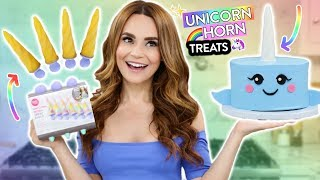 DIY UNICORN HORN TREATS!