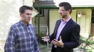 Peter Bozinoski appears on Melbourne Property TV, filmed on location, Heidelberg Project