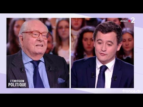 Jean-Marie Le Pen - Emission politique - France 2