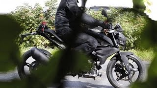 TVS BMW 300cc Bike Pose As Pulsar 200NS In New Spy Shot