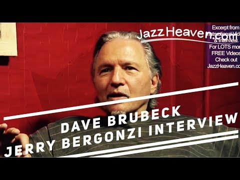 *Dave Brubeck* Jerry Bergonzi Interview on playing with him JazzHeaven.com Excerpt Jazz Saxophone