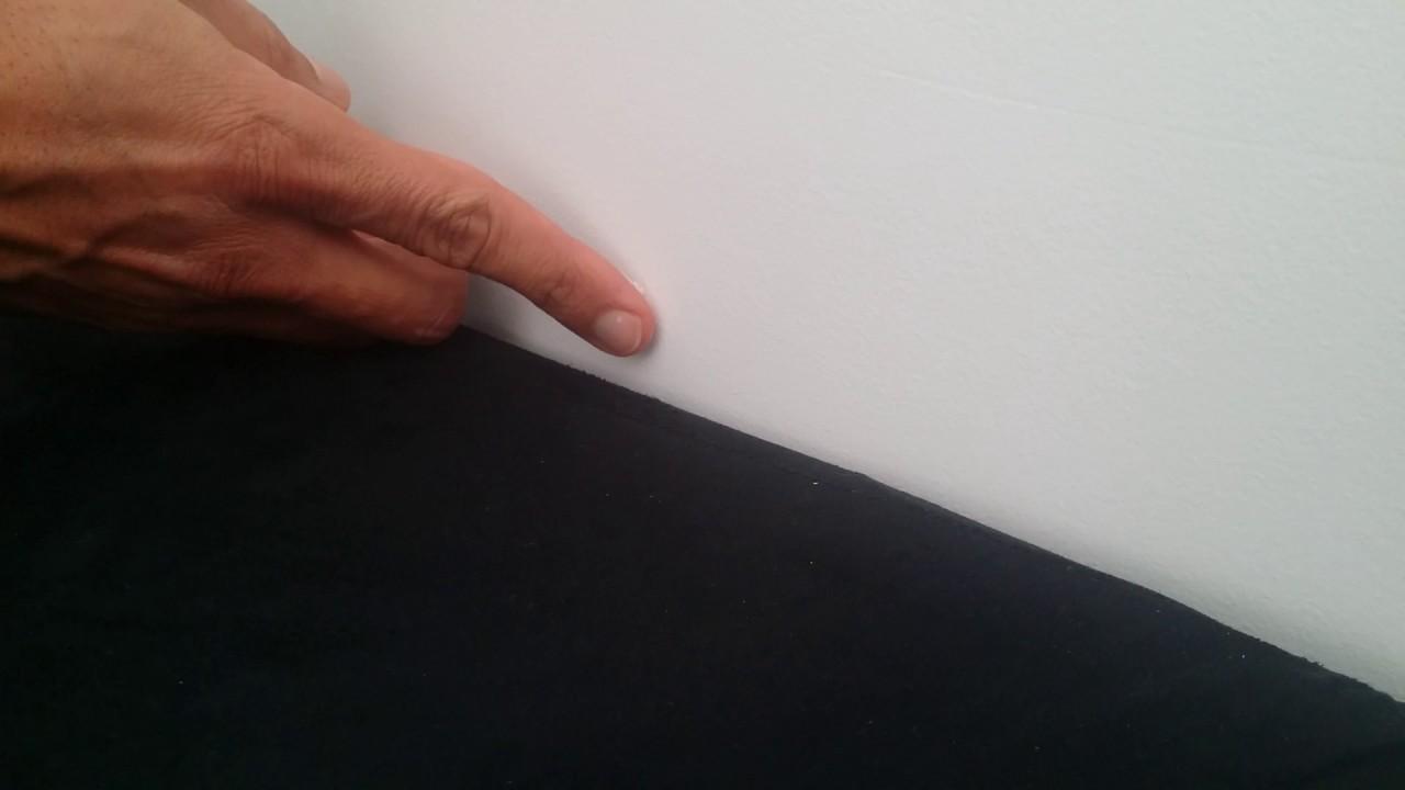 reboucher des trous de mur avec du dentifrice youtube. Black Bedroom Furniture Sets. Home Design Ideas