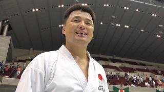 静と動。武道空手。根本敬介の試合(2014/2015/2016) Techniques and spirit of Keisuke Nemoto (JKA)