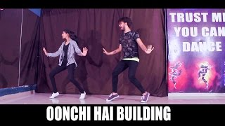 Judwaa Oonchi hai building dance choreography | Vicky Patel | Best bollywood dance on old song
