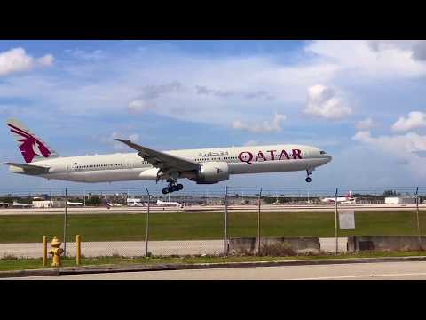 Heavies' Party: Miami International Airport Plane Spotting 08/19 (ATC/Flight Information)