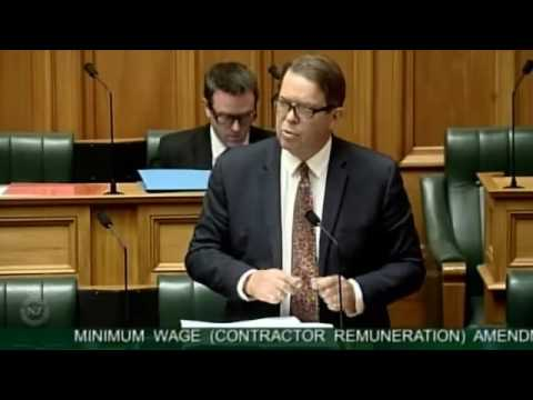 Minimum Wage (Contractor Remuneration) Amendment Bill Committee Stage taken as one debate - Part 17