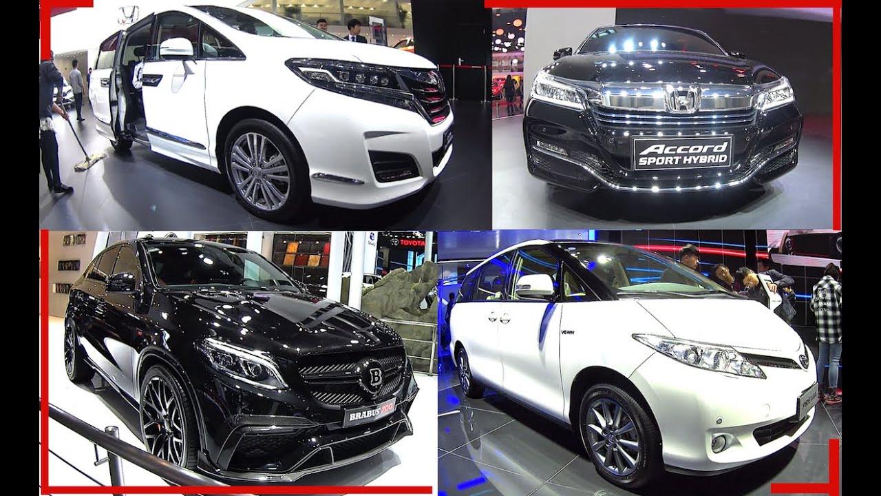 2016, 2017 Honda Elysion MPV VS 2016, 2017 Toyota Previa ...