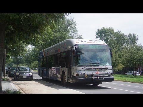 Metro Bus in Washington DC