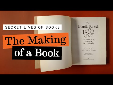 The Making of a Book: 'The Manila Synod of 1582'