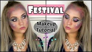 FESTIVAL MAKEUP TUTORIAL | Blond_Beautyy