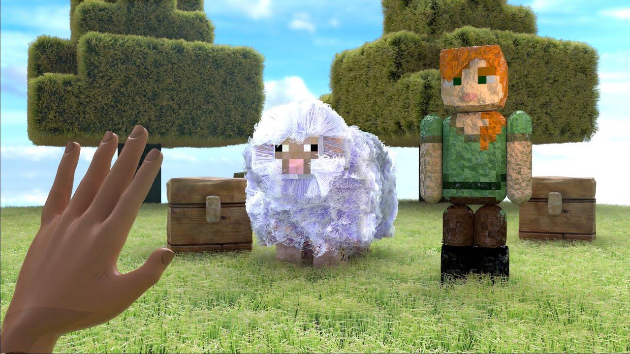 Minecraft Realistic Sheep #Shorts