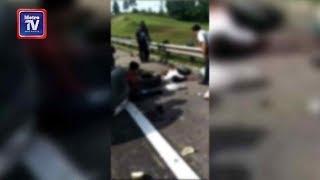 Pemandu Toyota Hilux maut, penumpang parah