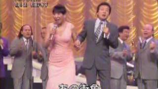 「星降る街角」前川清さんと和田アキ子さんのデュエットです。 キスとか...