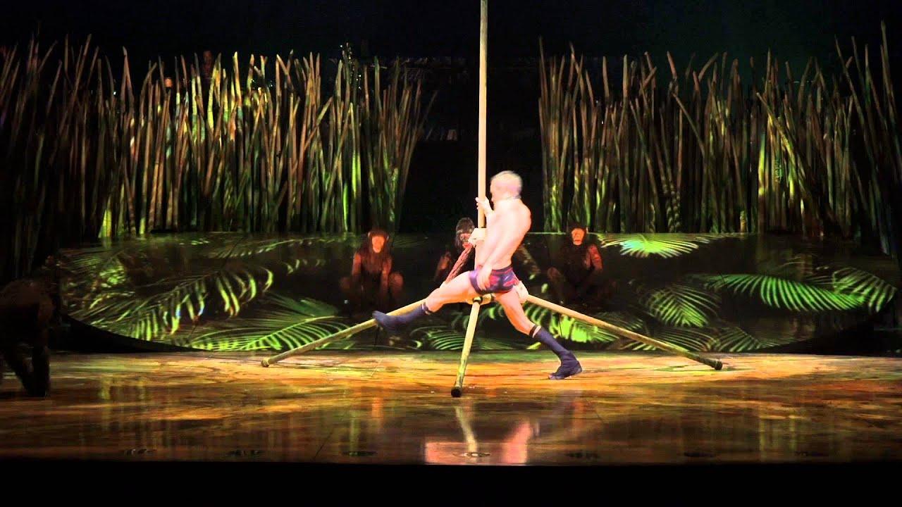 Escalade act | TOTEM | Cirque du Soleil