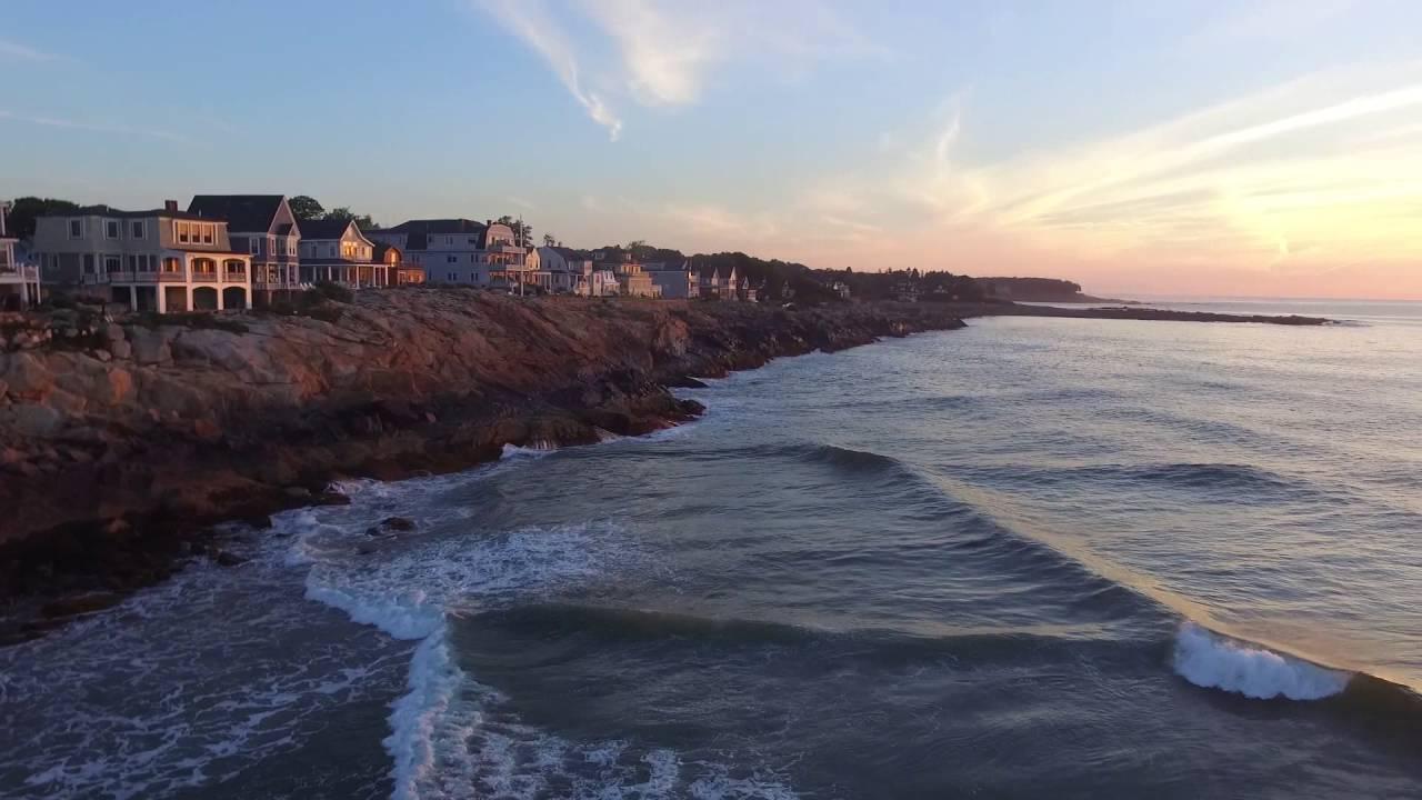 York Beach Maine Short Sands Sunrise With Music