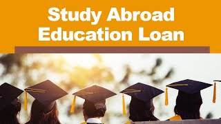 Study Abroad Education Loan - Things to Know (Tamil Video)