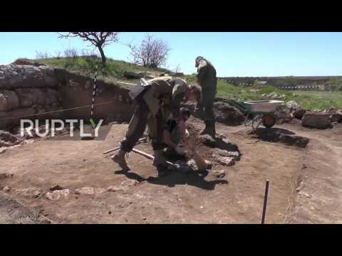 Russia: Ancient altar with figures of Greek gods found in Sevastopol