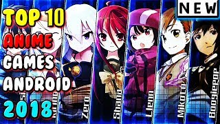 Best Anime Games For Android 2018