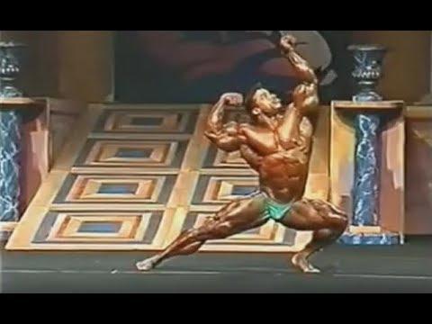 Aaron Baker - Mr. Olympia 1998 Posing