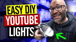 DIY Lighting Setup For YouTube