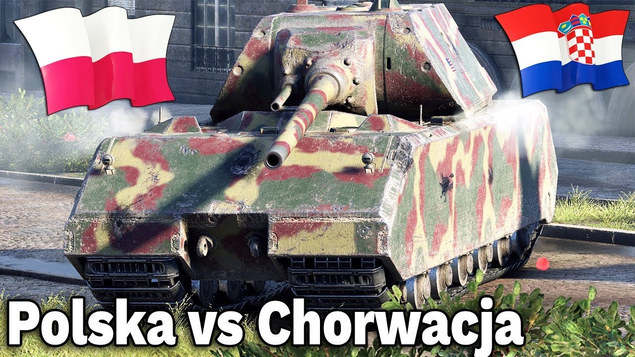 POLSKA vs CHORWACJA – World of Tanks