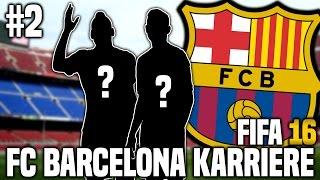 FIFA 16 Karrieremodus #2 - Die ersten Neuzugänge | FIFA 16 Karriere FC Barcelona [S1EP2]