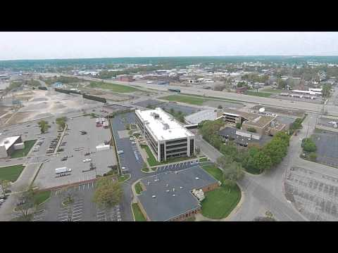 Short Flight in downtown Evansville,IN