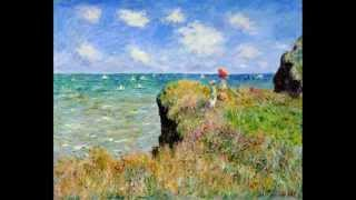 C. Franck : Prelude, Andante cantabile per due arpe / Monet