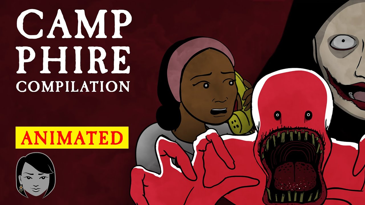 Download Camp Phire Compilation | Stories With Sapphire | Animated Scary Story Time