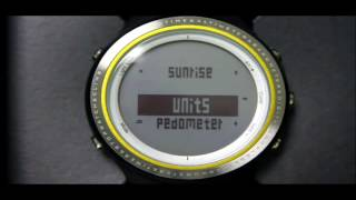 sUNROAD Smart Bluetooth Sports Watch FR803 Operation Video