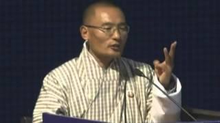 Prime Minister of Bhutan impresses Vibrant Gujarat Summit delegates with his speech