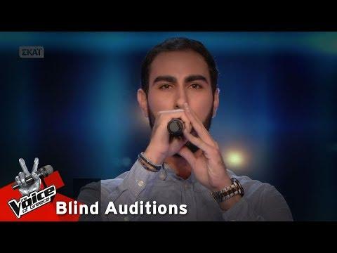 Κωνσταντίνος Κωνσταντίνου - Που να εξηγώ | 14o Blind Audition | The Voice of Greece