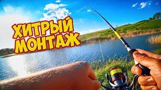 Хитрая оснастка Рыбалка на Балеринку поиск рыбы на новом водоеме Рыбалка в мае на спиннинг