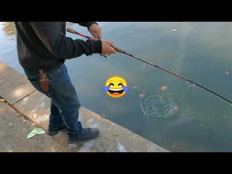 Fishing At Hagan Park,Rancho Cordova