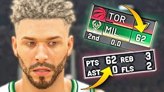 I SCORED 84 POINTS IN A ROW BEFORE MY TEAM SCORED A POINT! - NBA 2K20 MyCAREER #27