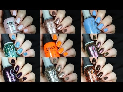 Top 10 Orly Nail Polishes!!