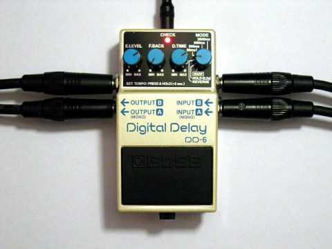 pepe boss dd 6 digital delay demo youtube rh youtube com Boss Digital Delay DD 5 boss digital delay dd 5 manual