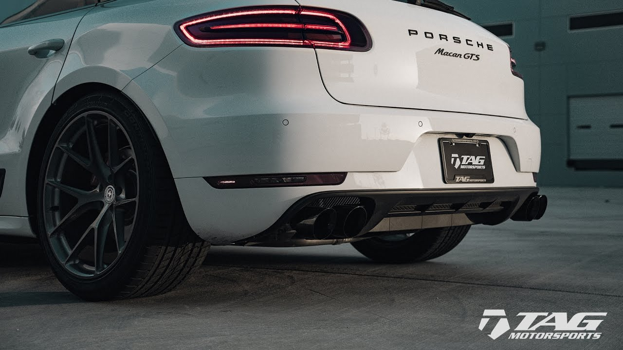 Awe Tuning Exhaust For Porsche Macan S Gts Turbo Tag Motorsports