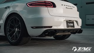 AWE Tuning Exhaust for Porsche Macan S/GTS/Turbo | TAG Motorsports