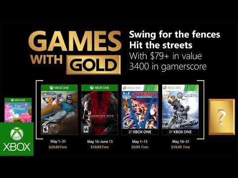 Xbox Games With Gold May 2020.Xbox Games With Gold May 2018 Lineup Features Mgs5 Vanquish